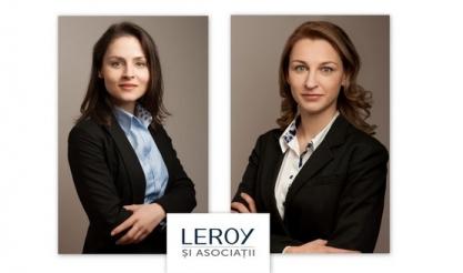 Leroy și Asociații promovează doi noi parteneri, ca urmare a strategiei de continuă dezvoltare a societății