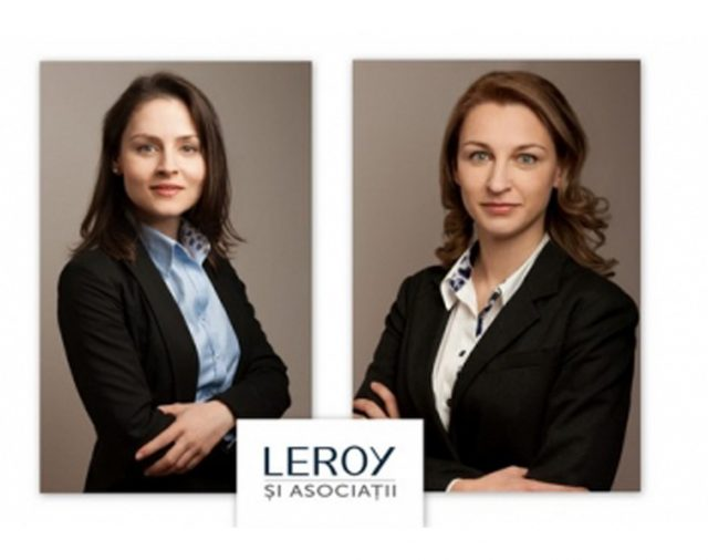 Leroy și Asociații announces two new partners as a result of the firm's continuous growth